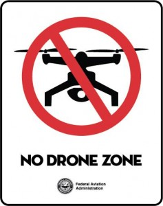 No fly zone FAA