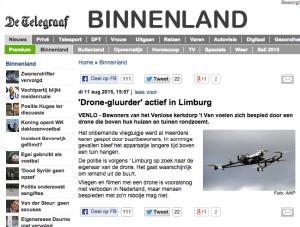 telegraaf drones